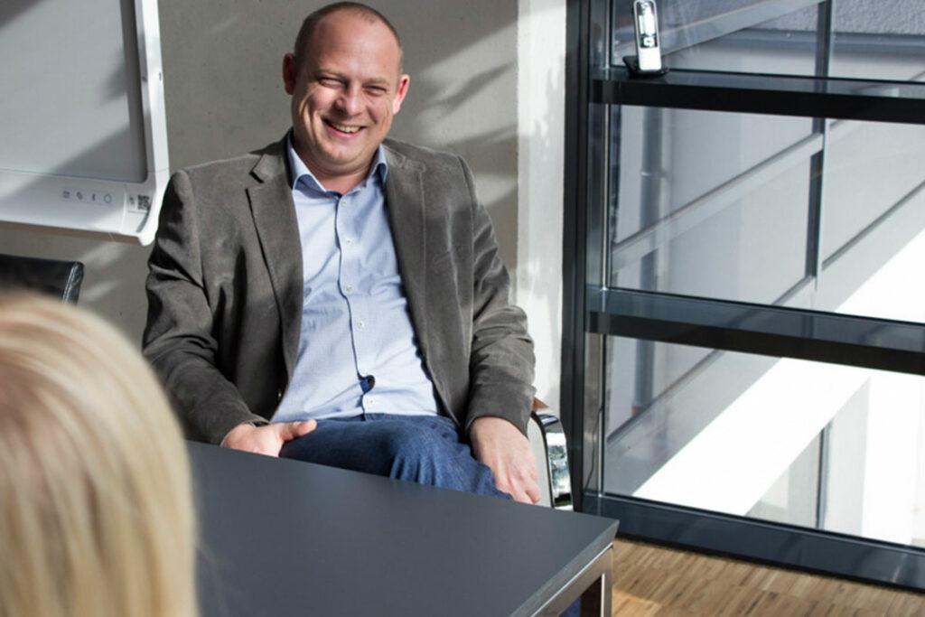 Sebastian Geck Geschäftsführer im Interview Drücke Dortmund