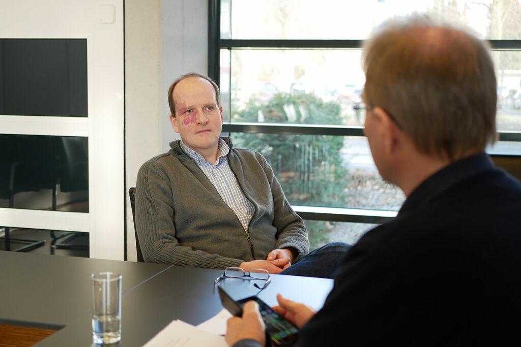 Projektleiter Elektro Dirk Simon Interview