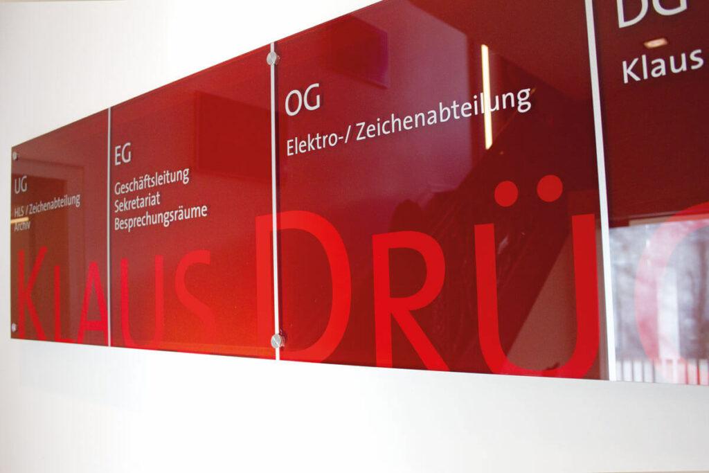 Abteilungen Ingenieurgesellschaft Drücke in Dortmund