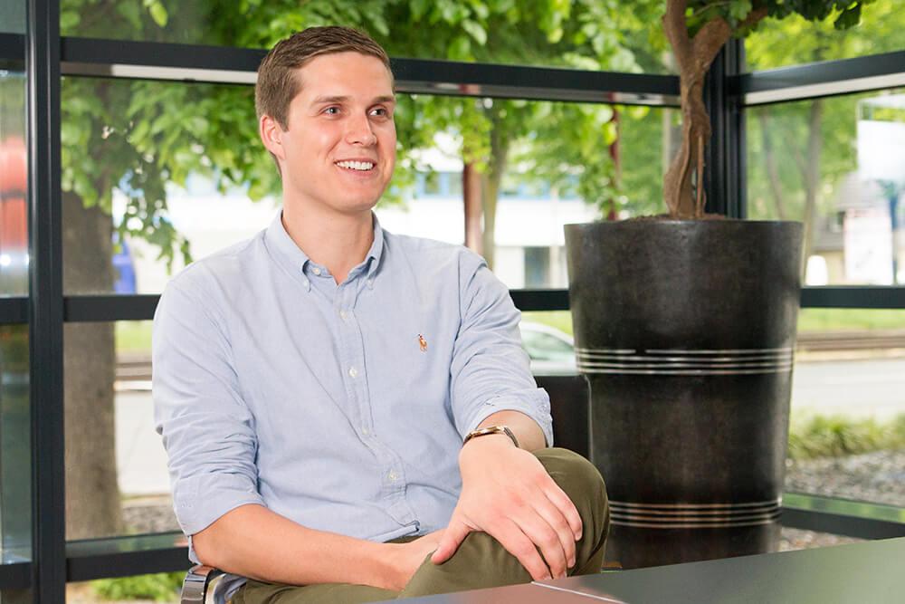 Interview mit Werkstudent Ferdinand Kment